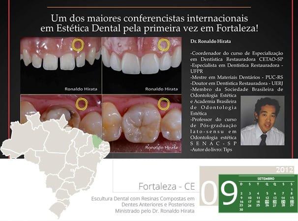 Escultura Dental com Resinas Compostas em Dentes Anteriores e Posteriores – Ministrado pelo Dr. Ronaldo Hirata