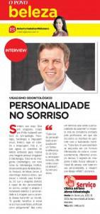 Entrevista sobre o Visagismo em coluna de Beleza no Jornal OPOVO