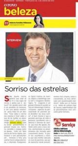 Sorriso das Estrelas: Matéria com Dr. Adriano Abreu.