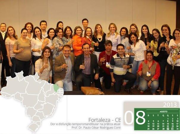 Curso de dor e disfunção temporomandibular em Fortaleza com Professor Paulo Conti