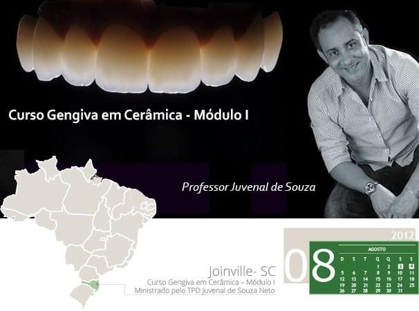 Curso Gengiva em Cerâmica – Módulo I - Ministrado pelo TPD Juvenal de Souza Neto