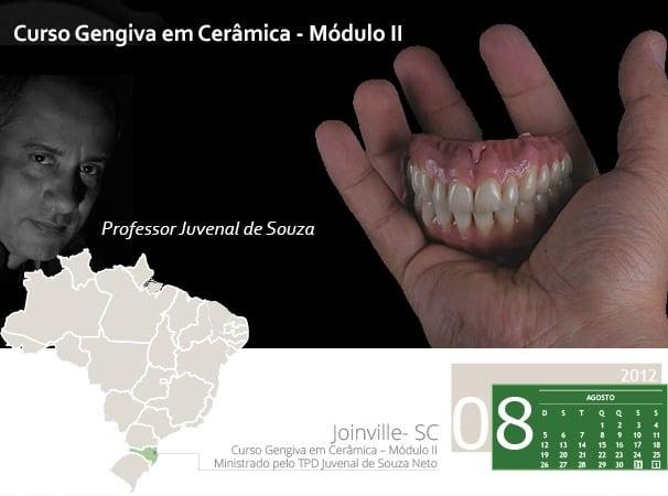 Curso Gengiva em Cerâmica – Módulo II – Ministrado pelo TPD Juvenal de Souza Neto