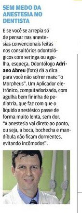 Nota no jornal O Povo sobre o Morpheus