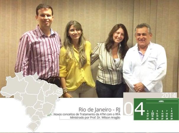 Curso: Novos conceitos no tratamento da ATM com o RFA, curso com o Professor Wilson Aragão