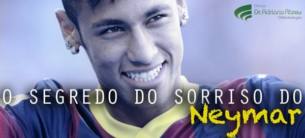 O segredo do sorriso do Neymar