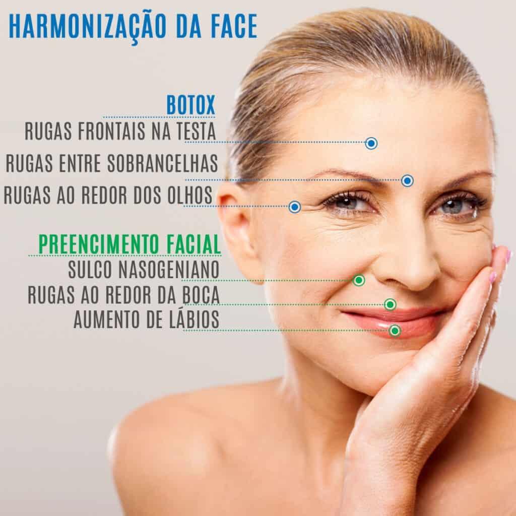 Diferença entre Botox e Preenchimento Facial
