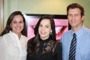 Dr. Adriano Abreu Roberta Fonteles Raquel Fiterman na clinica adriano abreu