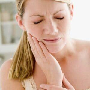 A sensibilidade é comum durante o procedimento.