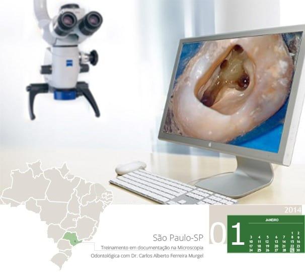 treinamento em documentacao na microscopia odontologica com dr.carlos alberto murgel