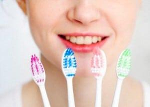 Escolha a escova de dentes correta