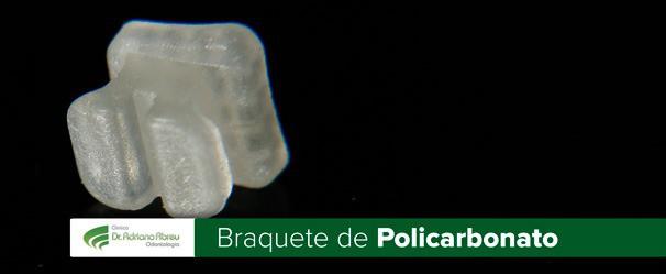 braquete de policarbonato