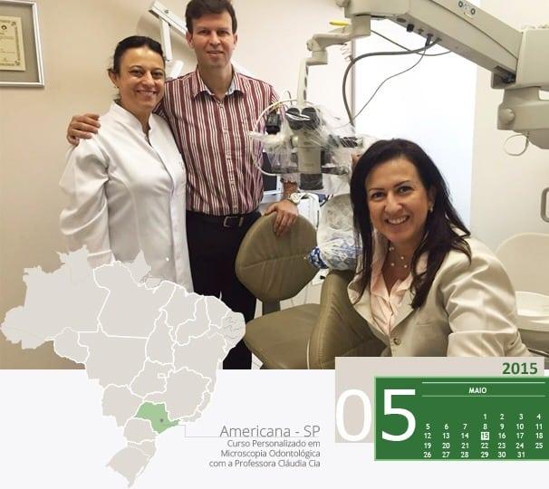 curso personalizado de microscopia odontologia com professora claudia cia