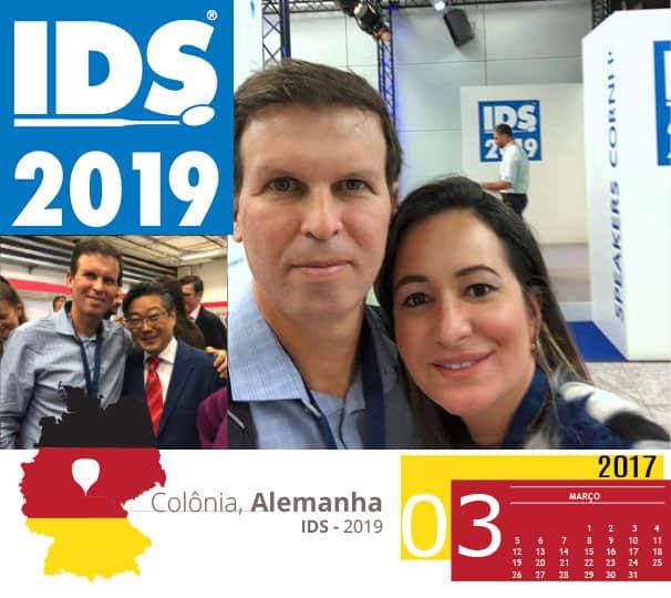 Dr Adriano Abreu no Congresso IDS 2019 na Alemanha